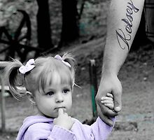 Little girl and her daddy by picsbysamm