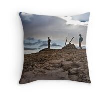 White Peak Summit - Geraldton WA Throw Pillow
