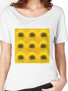 SUNFLOWERING Women's Relaxed Fit T-Shirt