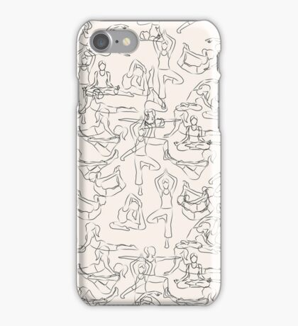 Yoga Manuscript iPhone Case/Skin