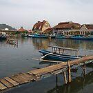 Riverside - Padang, Sumatra by Naomi Brooks