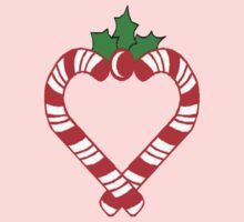 Candy-Cane Heart by MaeBelle