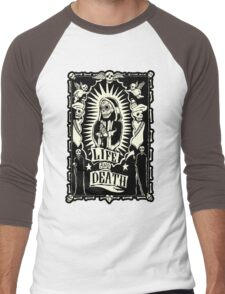 Mexico Day of the Dead Men's Baseball ¾ T-Shirt