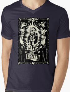 Mexico Day of the Dead Mens V-Neck T-Shirt
