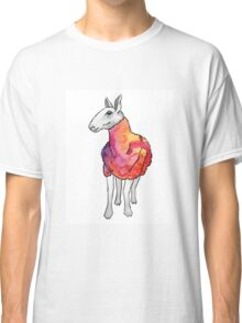 Psychedelic sheep: Blue Faced Leicester, red/violet Classic T-Shirt