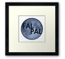 Jimmy Fallon- Fal Pal Framed Print