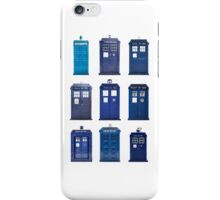 TARDIS Typology iPhone Case/Skin