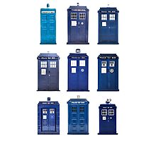 TARDIS Typology Photographic Print