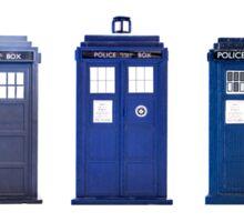 TARDIS Typology Sticker