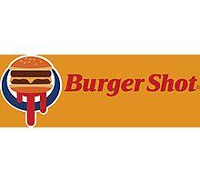 Burger Shot Photographic Print