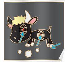 bulls-eye Poster