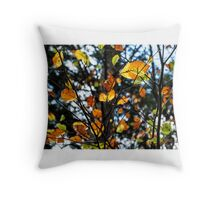 Slovenia colors Throw Pillow