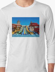 Sunny Beach Water Park, BULGARIA Long Sleeve T-Shirt