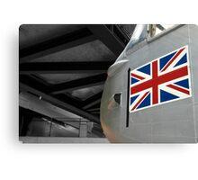 Plane & Flag Canvas Print