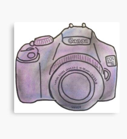 Pastel Camera Canvas Print
