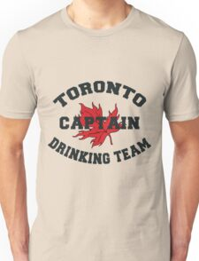"Toronto Canada ""Drinking Team Captain"" Unisex T-Shirt"