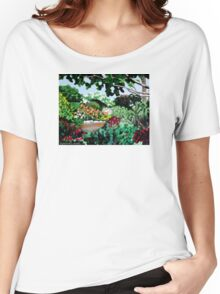 Plein Air in the Garden Women's Relaxed Fit T-Shirt