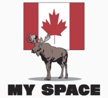 "Canada ""MY SPACE"" by HolidayT-Shirts"