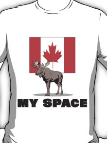 "Canada ""MY SPACE"" T-Shirt"