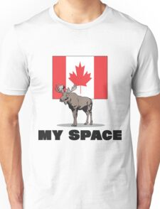 """Canada """"MY SPACE"""" Unisex T-Shirt"""