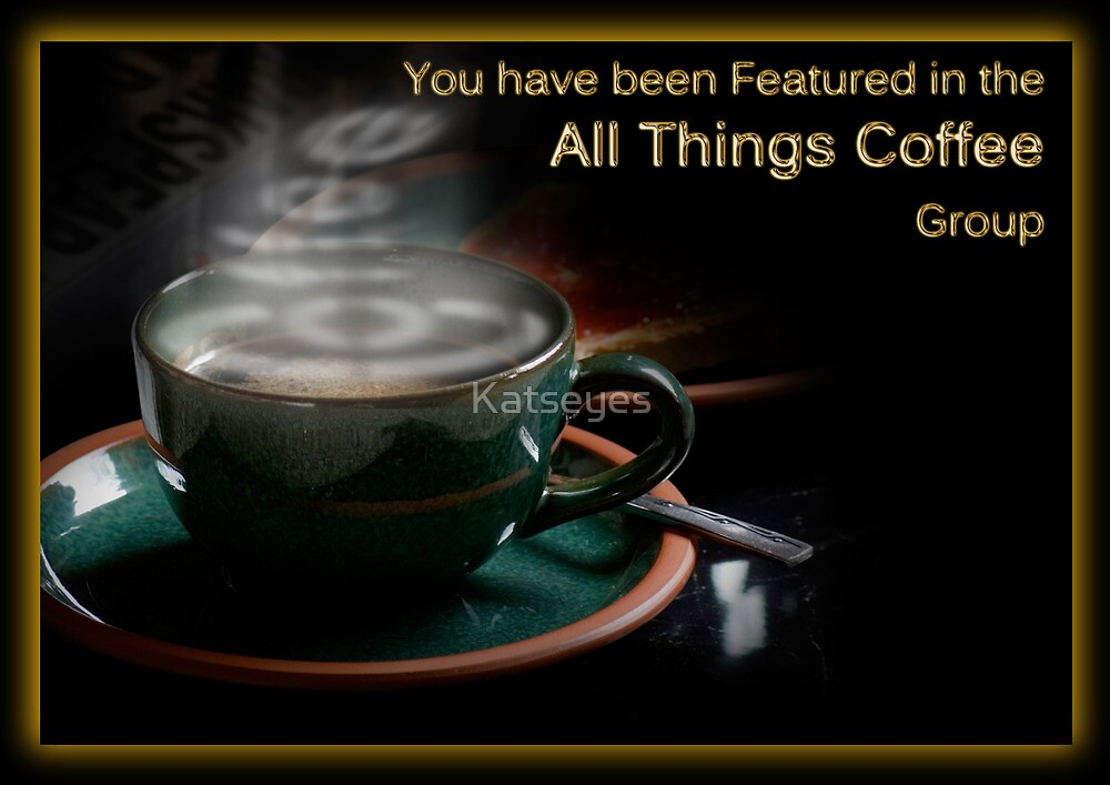 All Things Coffee Banner by Katseyes