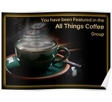 All Things Coffee Banner Poster