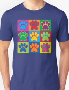 Pop Art Paws Unisex T-Shirt