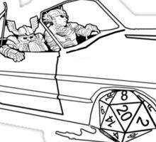 Dungeon Rider Sticker