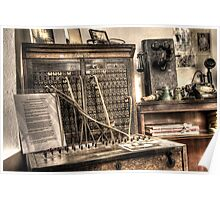Antique Switchboard Poster
