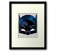 66 Bat Cowl Framed Print