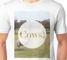 Cows. Unisex T-Shirt
