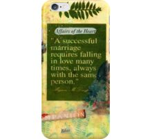 """A Successful Marriage"" Collage  iPhone Case/Skin"