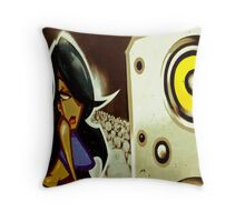 """Groove Thang"" Throw Pillow"