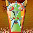 Tribal Dingo Mask by sstowe