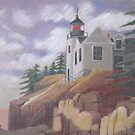 Light House - Maine by Susan Genge