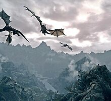 Flying dragon by Pretre Amelie