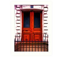 Paris Doorway Art Print
