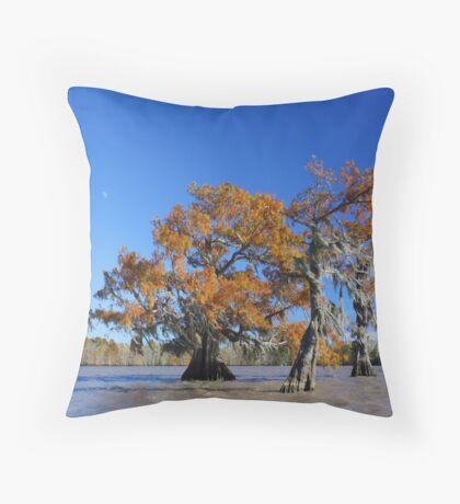 Majestic Cypress Throw Pillow