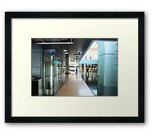 Corporate Interior in Copenhagen, Denmark Framed Print