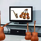 You're NOT watching this....too much sax and violins!! by Susan Littlefield