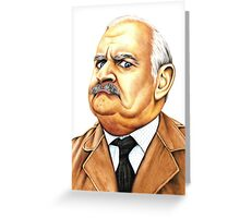 Open all hours - Ronnie Barker plays Arkwright Greeting Card