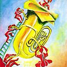 PLAYFUL TUBA by IRENE NOWICKI