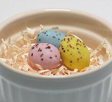 Easter eggs by Simon Perkin