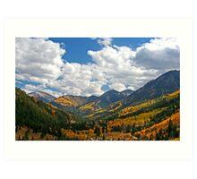 Redstone Valley Colors (1) Art Print