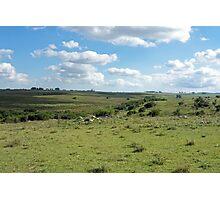 an unbelievable Uruguay landscape Photographic Print