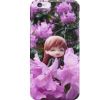 among the flowers iPhone Case/Skin