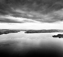 Stormy Landscape by Mario Curcio