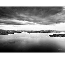 Stormy Landscape Photographic Print