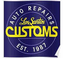Lost Santos Customs Classic Poster