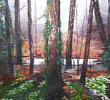 Autumn in the Forest by Marie Edlin